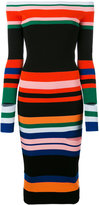 Ports 1961 striped knitted dress - women - Cotton - S