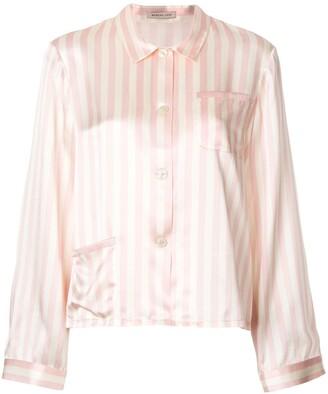 Morgan Lane Ruthie silk pyjama shirt