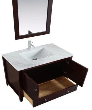 "Benelva 36"" Single Bathroom Vanity Alcott Hill"