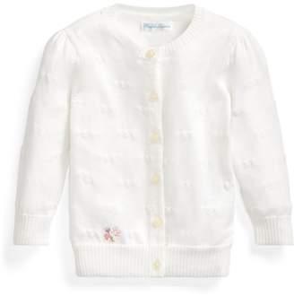 Ralph Lauren Hearts Cotton Cardigan