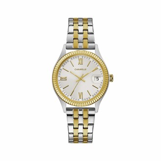 Caravelle Designed by Bulova Women's Quartz Watch with Stainless-Steel Strap