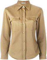 Miu Miu button-up shirt