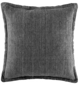 Kas Linen Cushion Grey Square