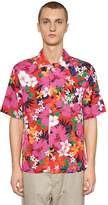 Ami Alexandre Mattiussi Floral Printed Viscose Shirt