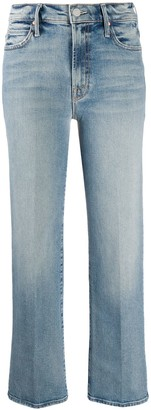 Mother Straight-Leg Jeans