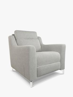 John Lewis & Partners Elevate Armchair, Metal Leg, Connie Grey