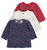 George 3 Pack Assorted Long Sleeve Tops