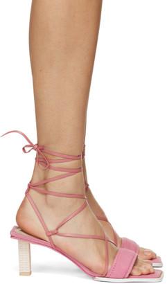 Jacquemus Pink Les Sandales Adour Heeled Sandals