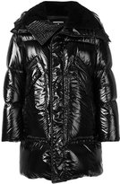 DSQUARED2 high shine padded coat - men - Polyamide/Polyester/Wool/Duck Feathers - 46