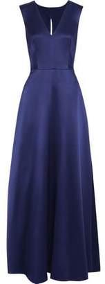 Alberta Ferretti Duchesse Silk-satin Gown