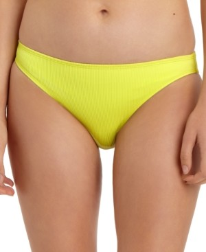 California Waves Juniors' Ribbed Hipster Bikini Bottoms, Created for Macy's Women's Swimsuit