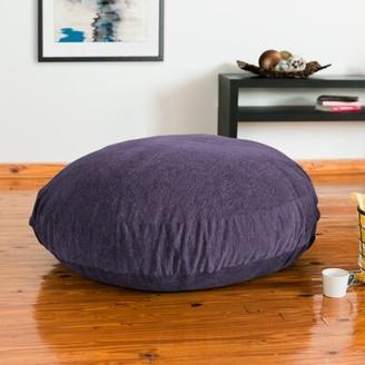 Latitude Run Large Classic Bean Bag Upholstery: Plum