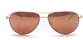 Oliver Peoples Benedict 59 Burgundy Sunglasses