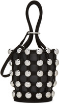 Alexander Wang Black Mini Roxy Bucket Bag
