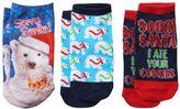 Pink Cookie Girls 4-16 3-pk. Polar Bear Holiday Low-Cut Socks