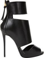 Giuseppe Zanotti Cutout Peep-Toe Ankle Boots