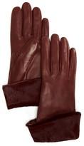 Bloomingdale's Calf Hair Cuff Glove