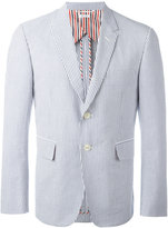 Thom Browne striped blazer - men - Cotton/Cupro - 0