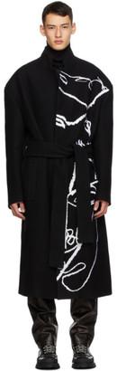Sean Suen Black Robe Coat