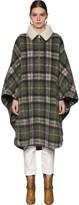 Etoile Isabel Marant Gabin Wool Blend Cape Coat