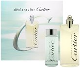Cartier Declaration by for Men 2 Piece Set Includes: 3.3 oz Eau de Toilette Spray + 3.3 oz All Over Shampoo