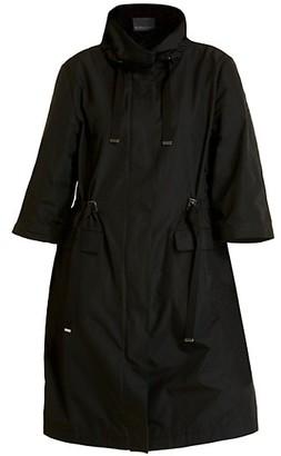 Marina Rinaldi, Plus Size Funnelneck Raincoat