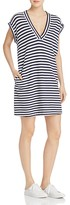 ATM Anthony Thomas Melillo Stripe Knit Tunic Dress