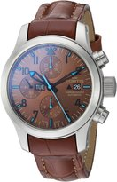 Fortis Men's 656.10.95 LC.08 Blue Horizon Chronograph Analog Display Automatic Self Wind Watch
