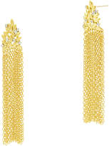 Freida Rothman Fleur Bloom Cascading Fringe Earrings