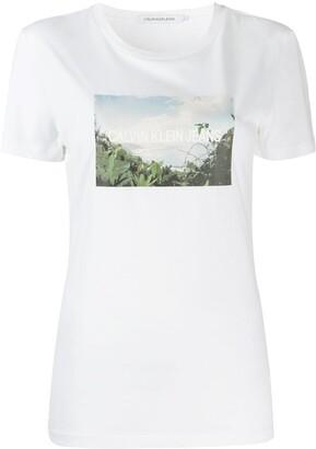Calvin Klein Jeans photo print T-shirt