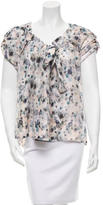 Mulberry Silk Abstract Print Blouse