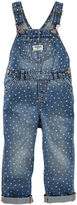 Osh Kosh Oshkosh Classic Blue Denim Overalls - Baby Girls newborn-24m