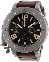 U-Boat Men's U42 Automatic Chronograph Dial Brown Genuine Leather