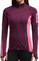 Icebreaker Atom Jacket - Merino Wool, Full Zip (For Women)