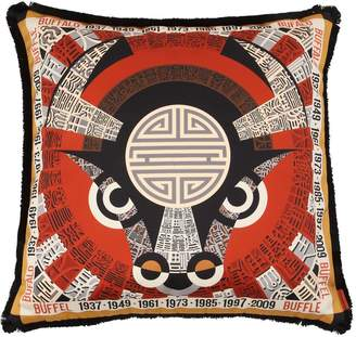 Missoni BUFFALO HOROSCOPE COTTON PILLOW