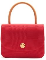 Mansur Gavriel Metropolitan top-handle grosgrain bag
