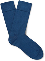 John Smedley - Sea Island Cotton-blend Socks