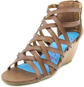 Blowfish Blip Women US 7.5 Brown Wedge Sandal