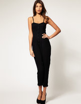 ASOS Jumpsuit with Side Elastic
