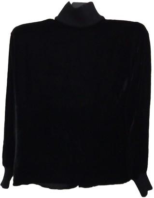 Ungaro Parallele Black Velvet Jacket for Women Vintage