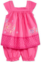 First Impressions Baby Girls' 2-Pc. Flower Tunic & Bloomer Set, Only at Macy's