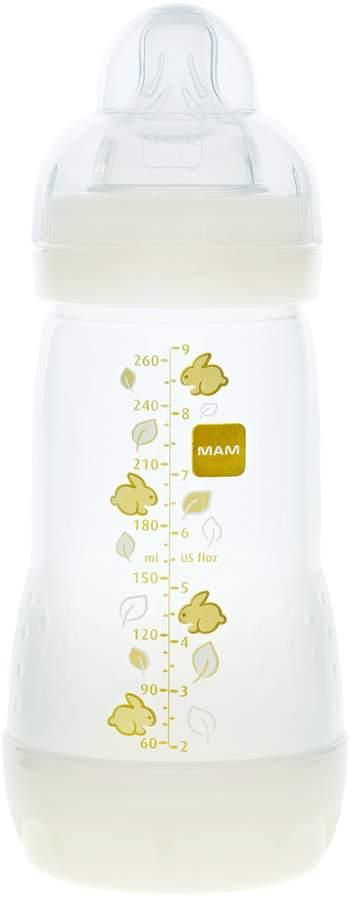 Mam Anti-Colic Bottle, Unisex, 9-Ounce, 0 Plus Months, 1-Count, (Unisex)