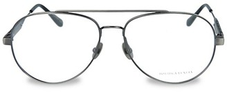 Bottega Veneta 50MM Aviator Optical Glasses