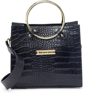 Persaman New York Juliet Embossed Leather Crossbody Bag