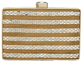 Adrianna Papell Stone Embellished Clutch Bag, Gold/Silver