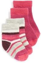 Smartwool Girl's 'Cozy Baby' Bootie Socks
