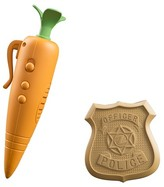 Tomy Zootopia Judy's Carrot Recorder and Badge