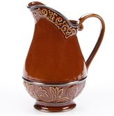 Certified International Solstice Brown 2.75-qt. Pitcher