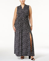 MICHAEL Michael Kors Size Mini Finley Maxi Dress