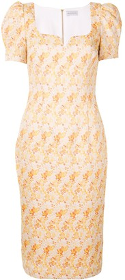 Rebecca Vallance Amber midi dress